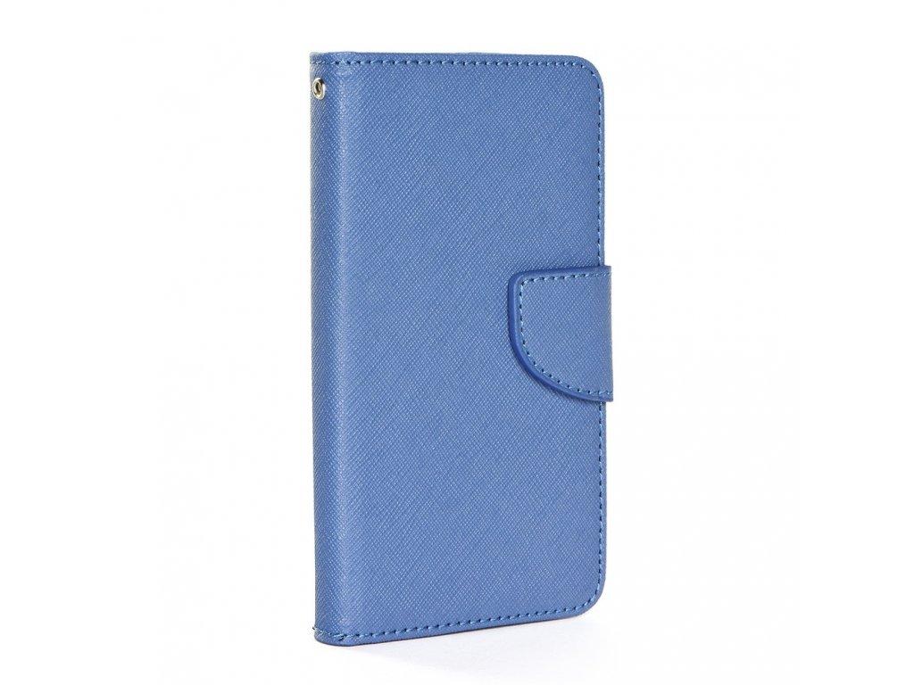 "Pouzdro typu kniha Fancy univerzalni 3,8 - 4,3"" navy blue"