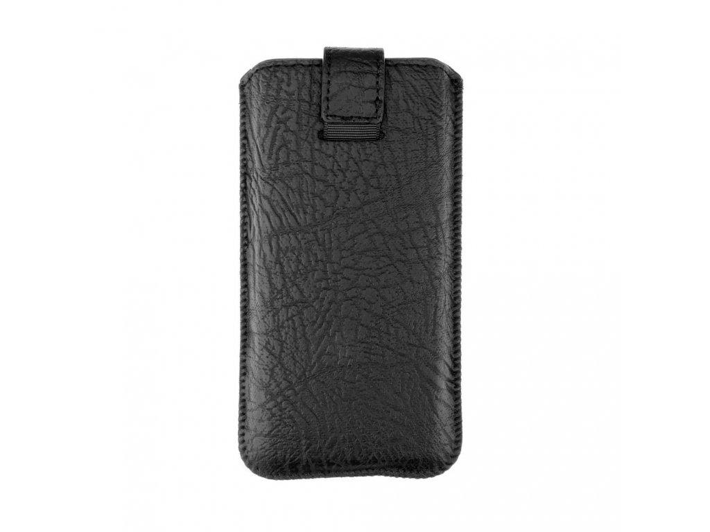 Kožené pouzdro Forcell - Slim Kora 2 - Sony Z1, Z2, Z3,S7 Edge (G935) - černé