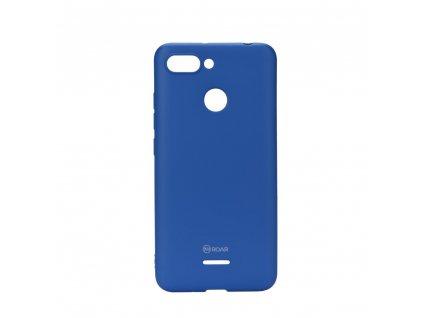 Pouzdro Roar Colorful Jelly Case Xiaomi Redmi 6 modré