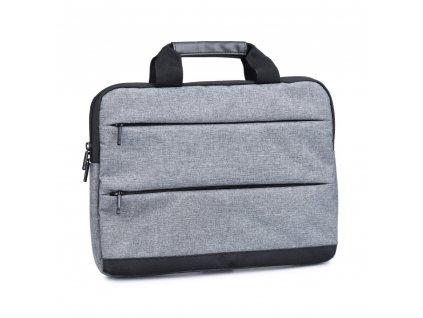 """Taška na notebook EXCLUSIVE 17 """" - tmavě šedá"""