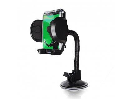 Držák mobilu do auta s fotkou na čelní sklo (17 cm) [Typ 2081]