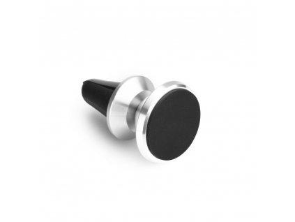Držák mobilu do auta magnetický do mřížky stříbrný
