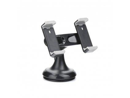 Držák do auta DOUBLE SHORT ARM pro dva telefony/ navigaci/ zařízení