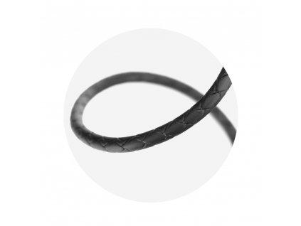 Magnetický kabel WK-Design USB - USB Typ C černý