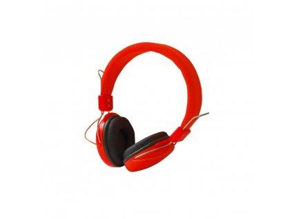 Multimediální sluchátka AP-60A  - oranžové