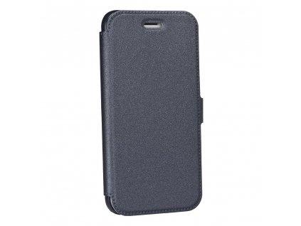"Pouzdro Book Pocket Apple Iphone XR (6,1"") ocelové"