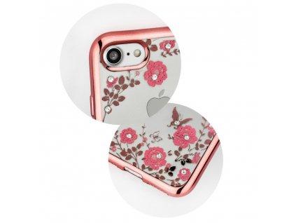 "Pouzdro Forcell DIAMOND Apple Iphone XS Max ( 6,5"" ) zlato/růžové"