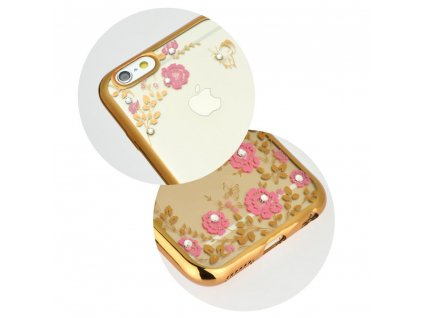 "Pouzdro Forcell DIAMOND Apple Iphone XS ( 5,8"" ) zlaté"