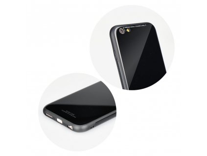 "Pouzdro Forcell Glass Apple Iphone XR ( 6,1"" ) černé"