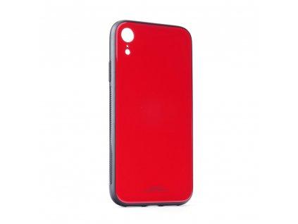 "Pouzdro Forcell Glass Apple Iphone XR ( 6,1"" ) červené"