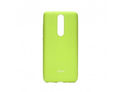 Pouzdro Roar All Colorful Nokia 5.1 2018 Limonka