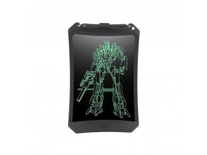 """LCD tablet pro psaní a kreslení Writing Board/ E-notepad 8,5"""" se zámkem - černý"""