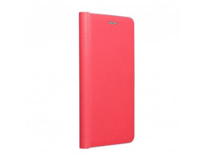 Pouzdro Forcell Luna Silver Apple Iphone 7 / 8 červené