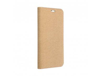 "Pouzdro Forcell Luna Book Apple Iphone XS Max (6,5"") zlaté"