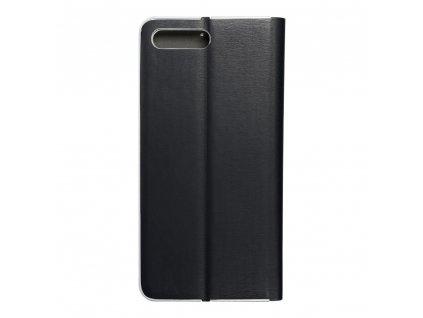 Pouzdro Forcell Luna Silver Apple Iphone 7 Plus / 8 Plus černé