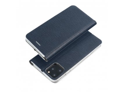 Pouzdro Forcell Luna Silver Apple Iphone 7 Plus / 8 Plus Navy Blue