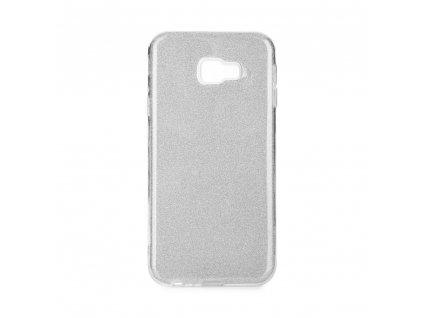 Pouzdro Forcell SHINING Samsung Galaxy J4+ ( J4 Plus ) stříbrné