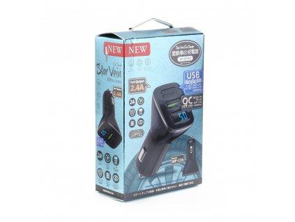 WK-Design nabíječka do auta STAR WP-C16 2 x USB - černá