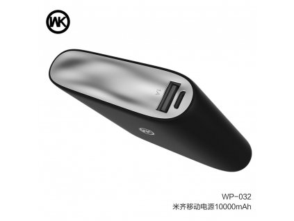 WK-Design Power Banka Mikey 10 000 mAh - černá