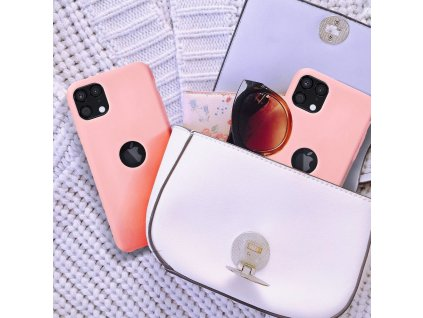 Pouzdro Forcell Soft-Touch SILICONE Apple Iphone 7 / 8 prášková růžová