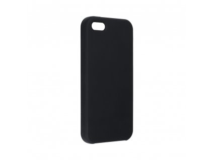 Pouzdro Forcell Soft-Touch SILICONE Apple Iphone 5 / 5S / 5 SE černé