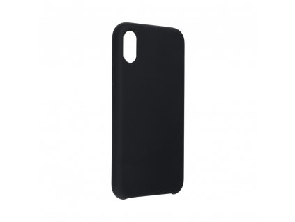 """Pouzdro Forcell Soft-Touch SILICONE Apple Iphone XS ( 5,8"""" ) černé"""