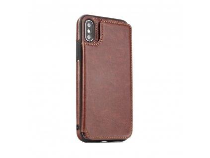 Pouzdro Forcell Wallet Case Samsung A7 2018 hnědé
