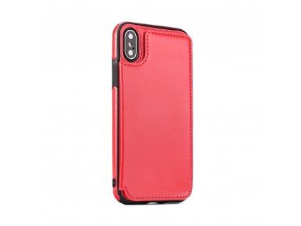 Pouzdro Forcell Wallet Case Samsung A7 2018 červené