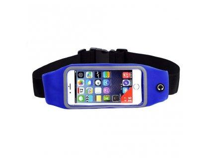 Sportovní běžecký pás/ taška - růžová
