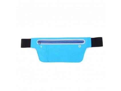 Sportovní běžecký pás/ taška - modrá