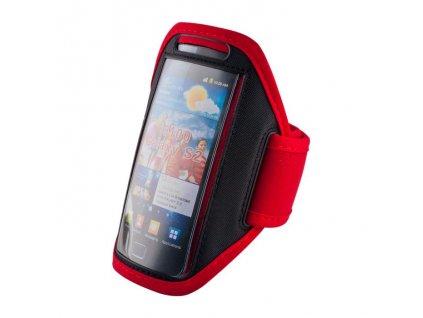 univerzalni sportovni pouzdro na ruku rozmer 4 7 4 8 cerno cervene w800 cfff