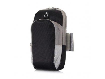 univerzalni sportovni pouzdro na ruku pocket s kapsou 5 3 5 5 cerno sede 2 w800 cfff