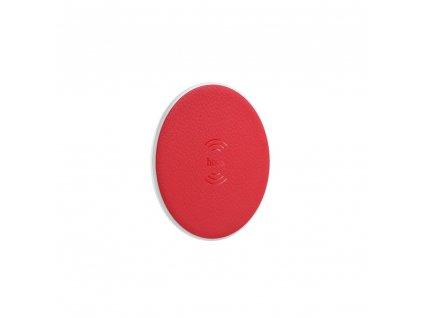 Bezdrátová / indukční nabíječka HOCO 2.0A CW14 červená
