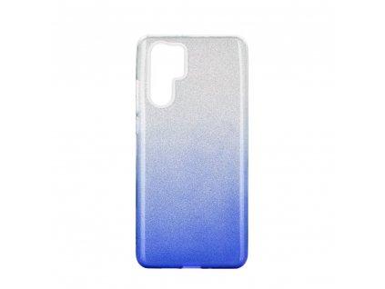 Pouzdro Forcell SHINING Huawei P30 PRO transparent/modré