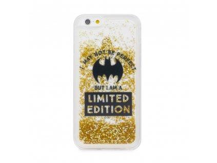 "Licencované pouzdro Apple Iphone XS ( 5,8"" ) Batman Bat Girl Gold Sand vzor 007"