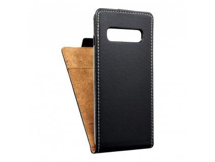 Forcell pouzdro Slim Flip Flexi FRESH Samsung Galaxy S10 černé