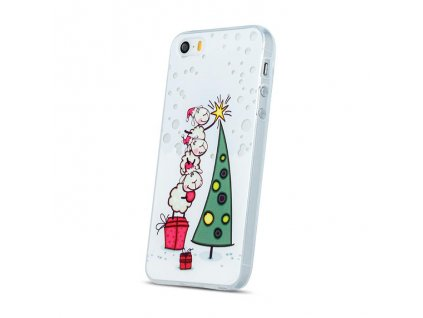 pouzdro christmas sheep case pro apple iphone 5 5s vanocni stromecek 2 w800 cfff