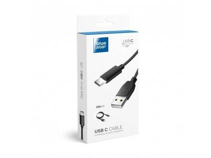 Kabel USB Blue Star Lite s konektorem micro USB typ C