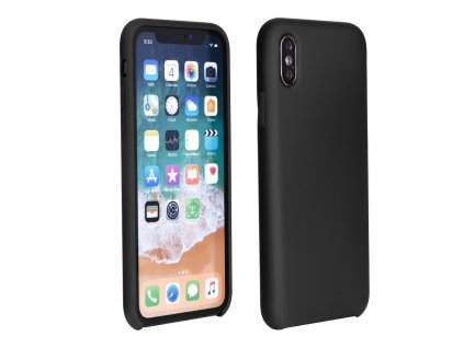 Pouzdro Forcell Soft-Touch SILICONE Huawei P30 Pro černé