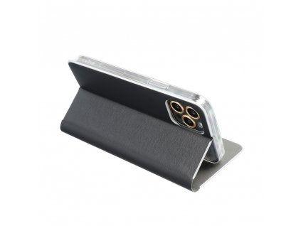 Pouzdro Forcell Luna Silver Samsung Galaxy S10e černé