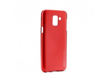 Pouzdro i-Jelly MERCURY/GOOSPERY Samsung Galaxy J6 2018 červené