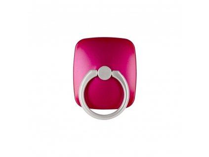 Stojan na mobil držák na prst Mercury WOW Ring růžový