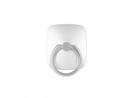 Stojan na mobil držák na prst Mercury WOW Ring stříbrný