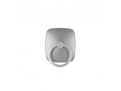 Stojan na mobil držák na prst Mercury WOW Ring šedý