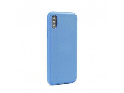 Pouzdro Mercury Style Lux Apple Iphone X / XS modré