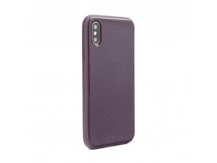 Pouzdro Mercury Style Lux Samsung A8 2018 fialové