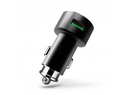 LDNIO nabíječka do auta C308 2x USB 3,6A + lightning kabel