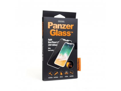 Tvrzené sklo PANZERGLASS Apple Iphone X / XS White Edge-to-Edge CS