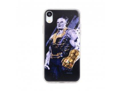 Licencované pouzdro Apple Iphone 5 / 5S / SE Thanos černé vzor 003