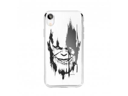 Licencované pouzdro Apple Iphone 5 / 5S / SE Thanos stříbrné vzor 004